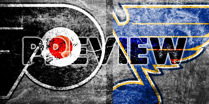 Preview: Flyers vs. Blues – Philadelphia Flyers